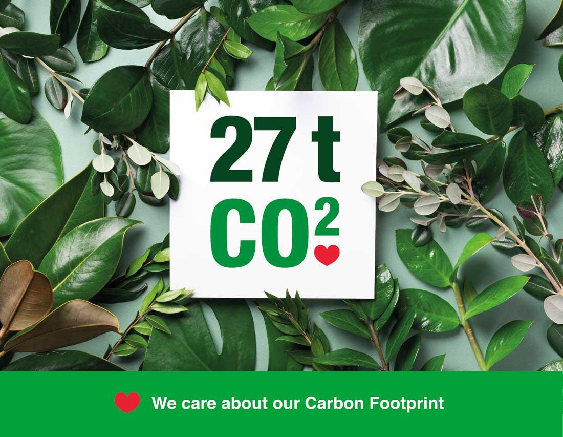 sucitesa reduce la huella de carbono